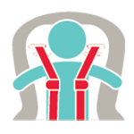 icon of baby with carseat