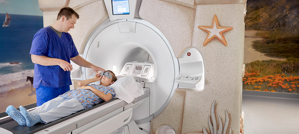 Lucile Packard Children's Hospital new PET/ MRI in Palo Alto, California