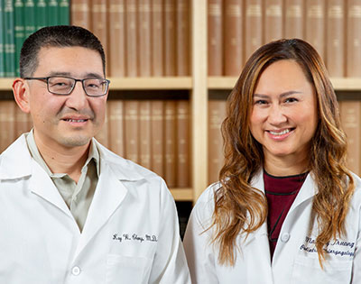 Dr. Truong and Dr. Chang