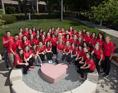Rehabilitation team at Stanford Children's Health
