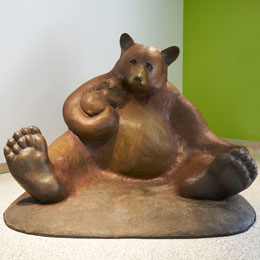 Mama Bear at Lucile Packard Children's Hospital Stanford