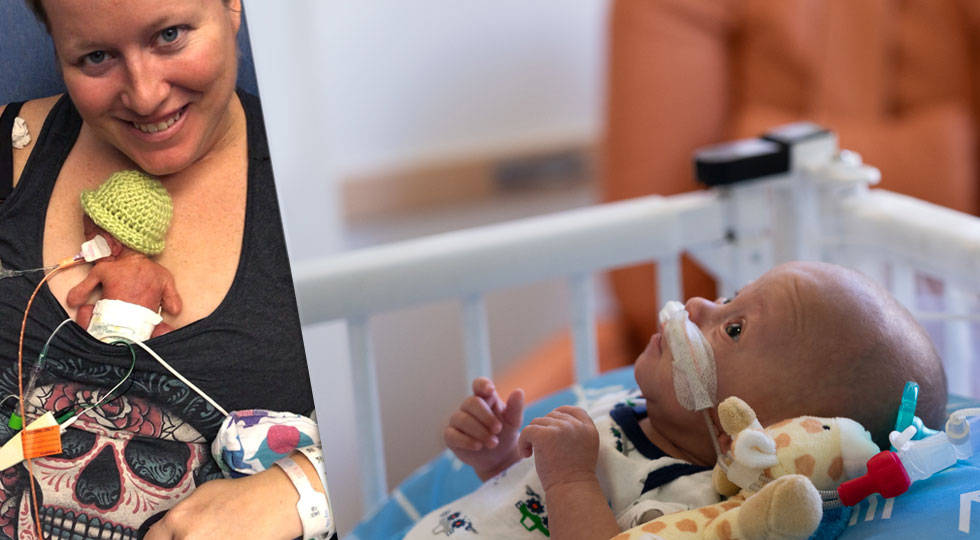 Baby Haven, Packard Children's tiniest baby of 2019