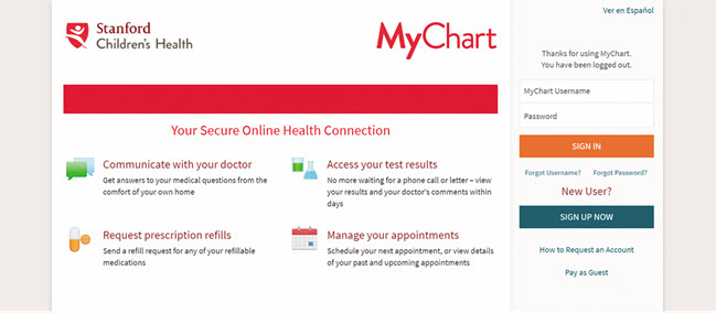 Login to MyChart Account