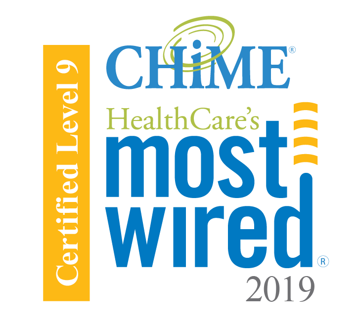 CHIME most wired hospital