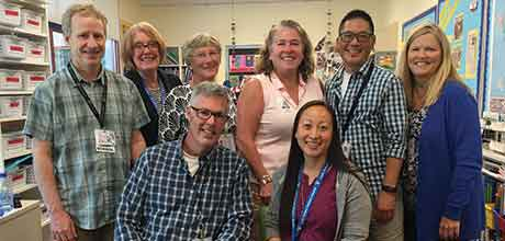 Teachers at Lucile Packard Children's Hospital Stanford and Palo Alto Unified School District