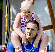 CrossFit star faces daughter's leukemia