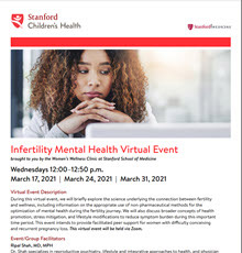 PDF of info on Infertility Mental Health Event