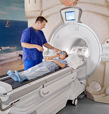 Kid friendly MRI