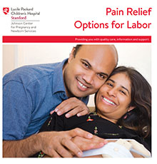 Pain Relief Options for Labor