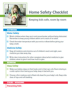 Download the Home Safety Checklist PDF