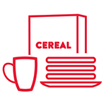Gluten-free breakfast icon