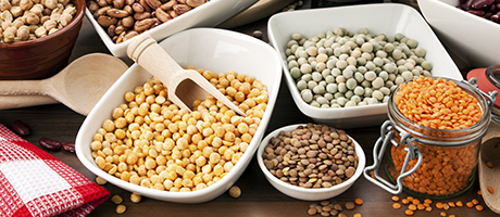 Gluten-free grains and legumes