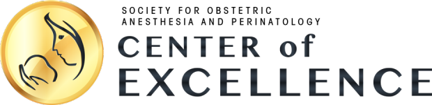 Society for Obstetric Anesthesia and Perinalogy Center of Excellence logo