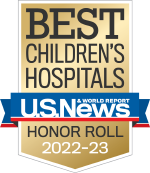 US News & World Report Best Children's Hospital Honor Roll