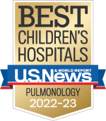 US News and World Report Badge for Pulmonary Medicine