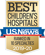 US News & World Report Best Children's Hospital
