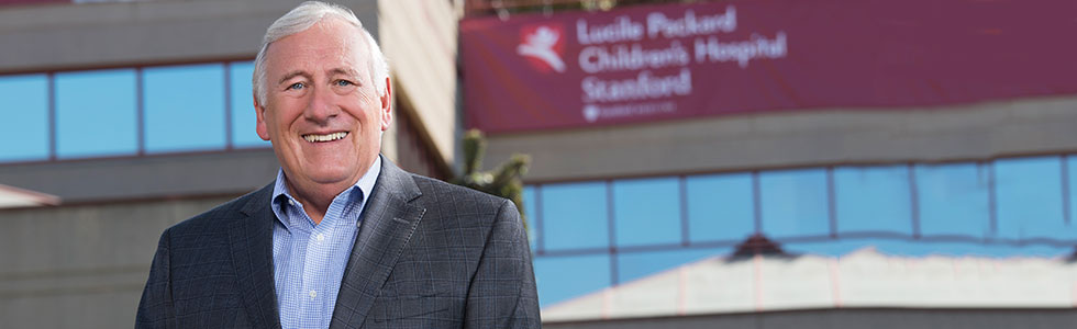 Chris Dawes, President and CEO of Stanford Children's Health, Lucile Packard Children's Hospital Stanford