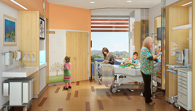 Lucile Packard Children's Hospital Stanford expansion renderings