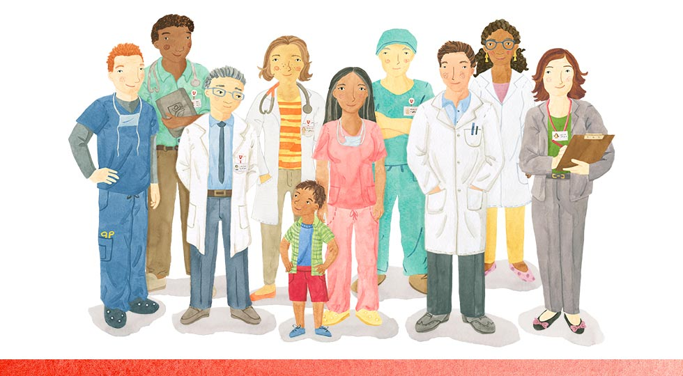 Stanford Children's Health Brain and Behavior illustration