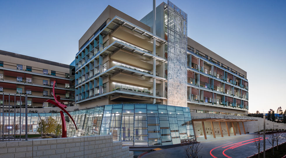 Lucile Packard Chldren's Hospital Stanford LEED platinum certification