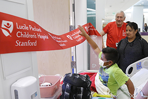 Patient move day at Lucile Packard Children's Hospital Stanford