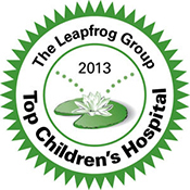Leapfrog Top Children's Hosptial Award - Stanford Children's Health
