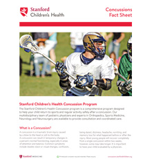 Download Concussions Fact Sheet