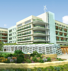 Lucile Packard Children's Hospital Stanford rendering of new hospital expansion