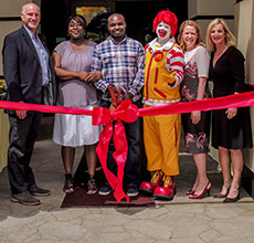 Ronald McDonald House at Stanford Grand Opening Ribbon Cutting